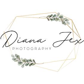 Sonoma County lifestyle maternity, newborn and family photographer serving Petaluma, Napa, Santa Rosa and the North Bay.  Diana Jex Photography logo