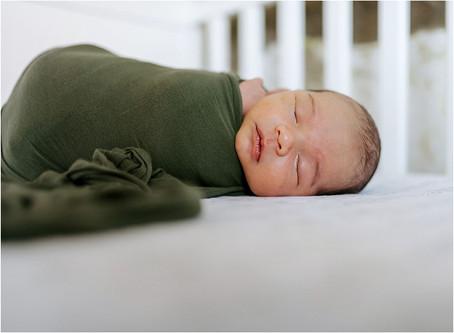 In Home Newborn Session, Santa Rosa, CA