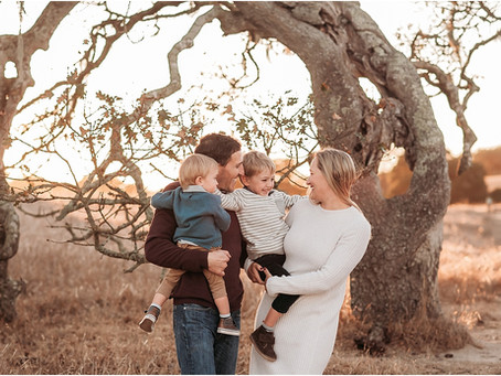 Sunset Family Session, Sonoma County!