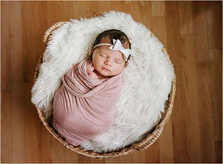 In Home Newborn Session!