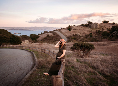 Maternity Photo Session, Tiburon CA