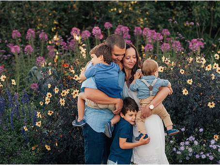 Beautiful Family Photo Session, Sebastopol, CA