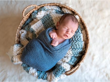 In Home Newborn Photo Session, Santa Rosa CA