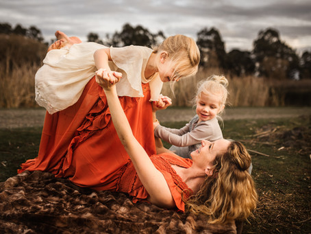 Love, Laughter and SO much Joy During this Motherhood Session!  Petaluma, CA