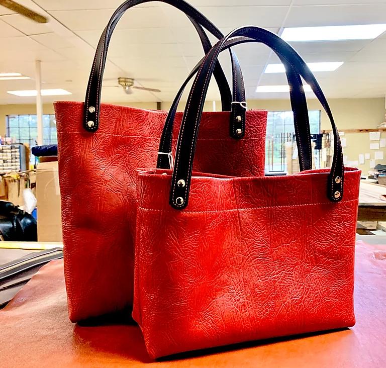 Leather Handbag Made in Arkansas
