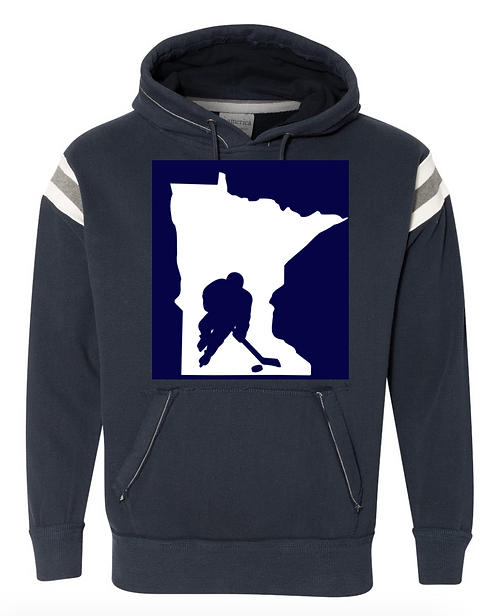 MN Player Stripe Sweatshirt