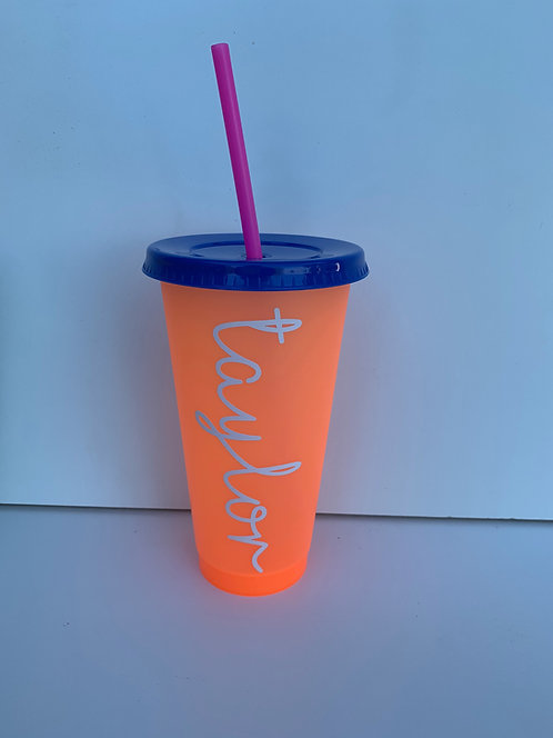 Name Color Changing Cup
