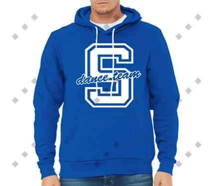 Simley Dance Bella&Canvas Royal Sweatshirt
