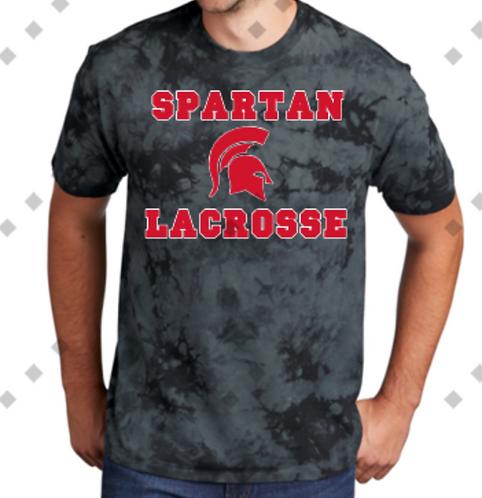 Tie Dye Spartan Lacrosse T-Shirt