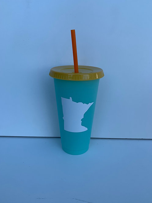 Minnesota Color Changing Cup
