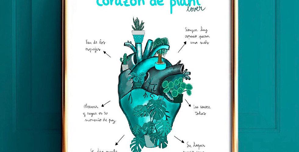 Corazón de plant lover