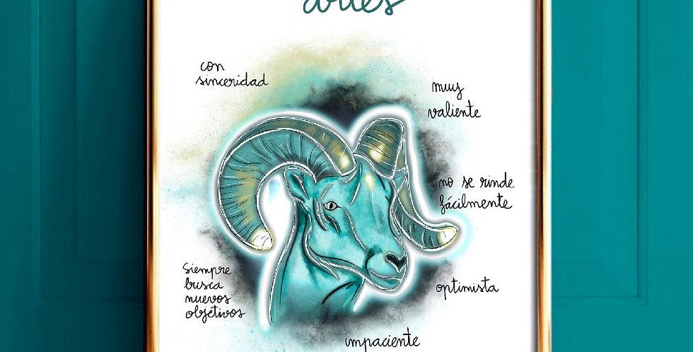 Lámina Aries