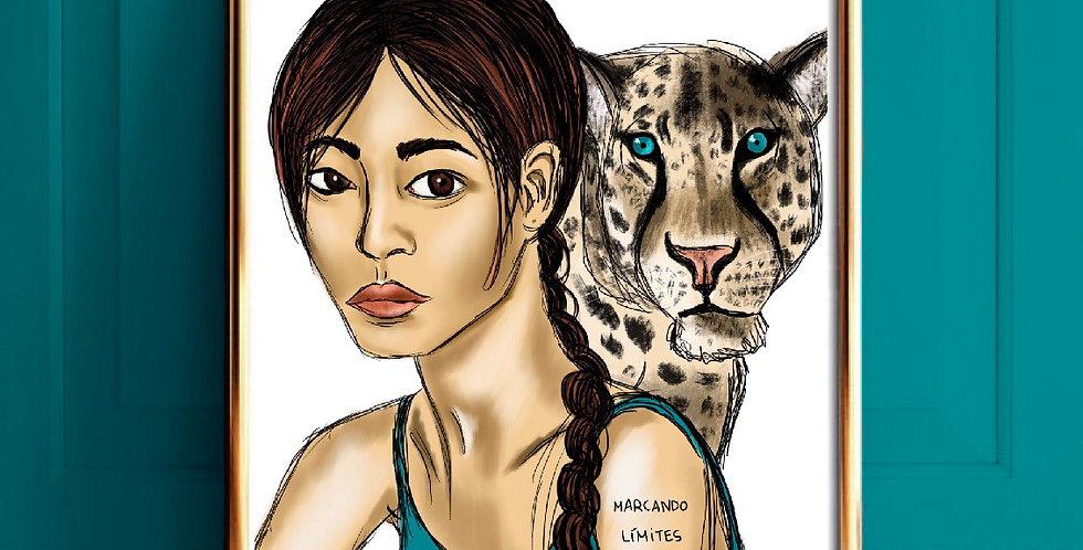 Lámina Leopardo