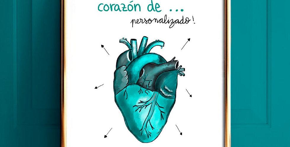 Corazón Personalizado
