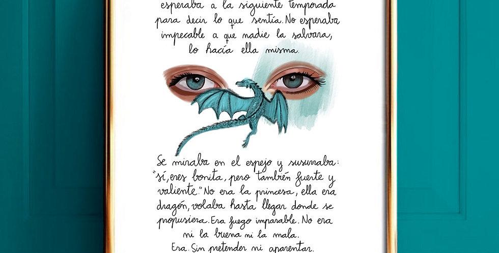 Lámina Dragón