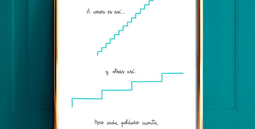 Lámina Escalera