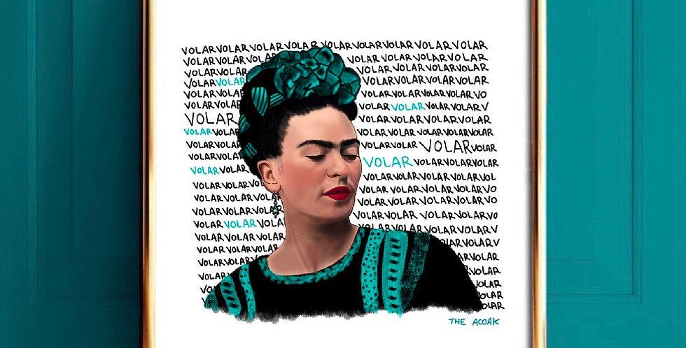 Lámina Frida