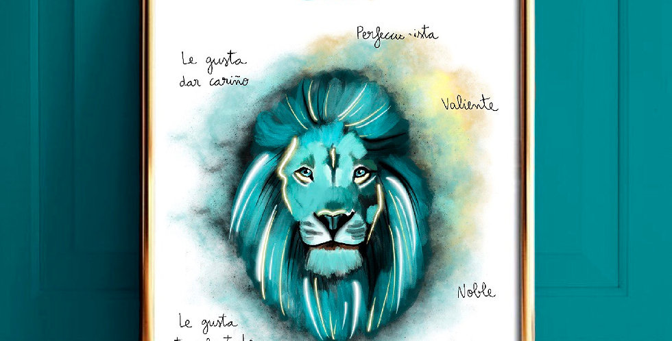 Lámina Leo