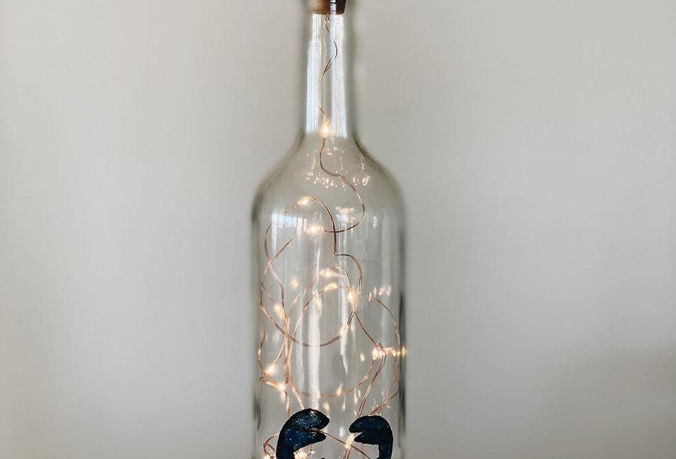 Botella cangrejo