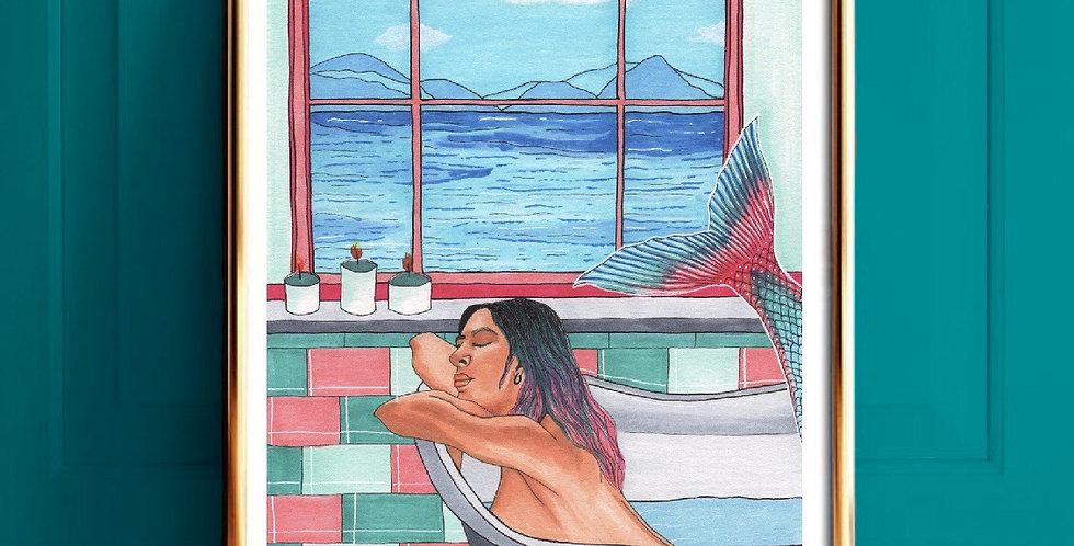 Lámina Sirena