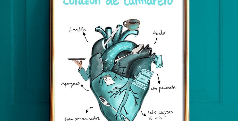 Lámina Camarero/a