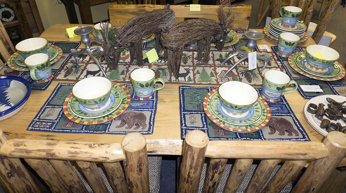 Rustic Cabin Dishes
