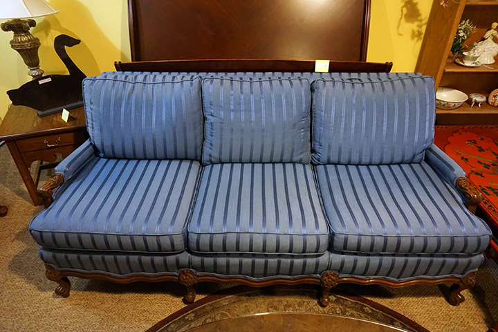 Antique Blue Sofa