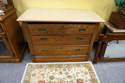 Marble-Top Dresser