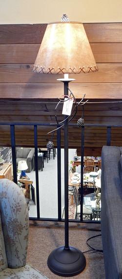 Pine Cone Floor Lamp