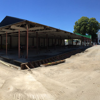 Old 4 Square under re-development