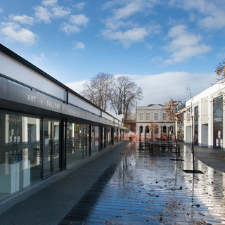 Completed HUB Retail development in Greytown