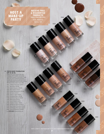 Body Shop Foundations
