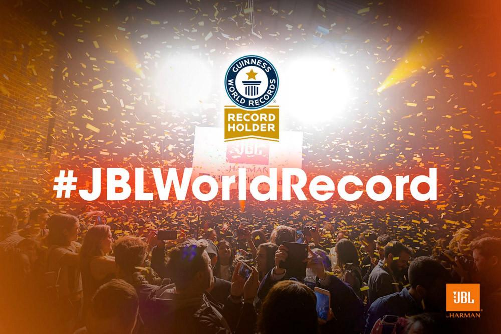 JBL World Record Event
