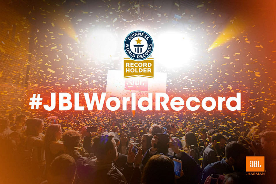 JBL World Record Event