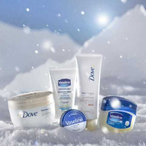 Dove and Vaseline Content