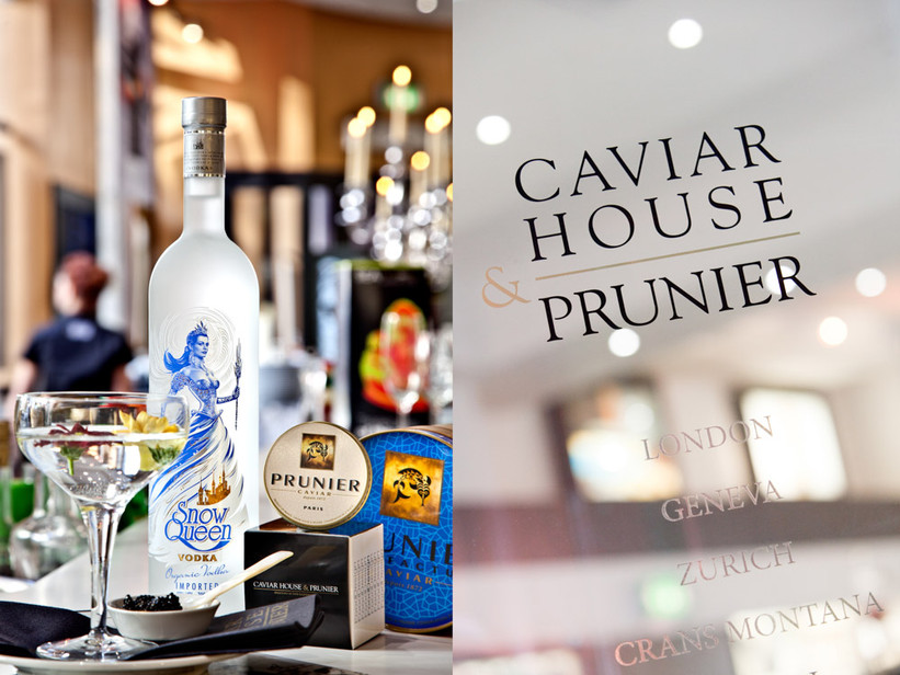 Caviar House and Snow Queen Vodka