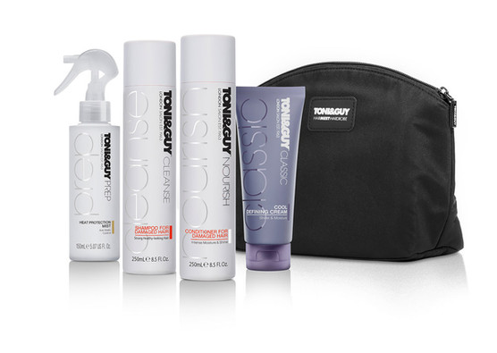 Toni & Guy Hair Meet Wardrobe