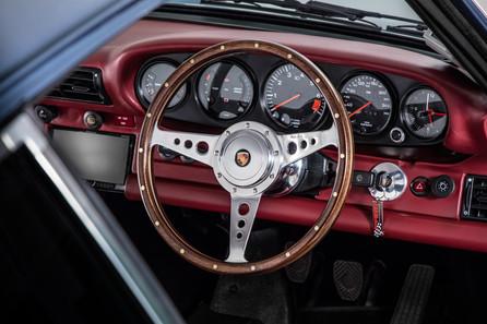 Vintage Porsche 911 Interior