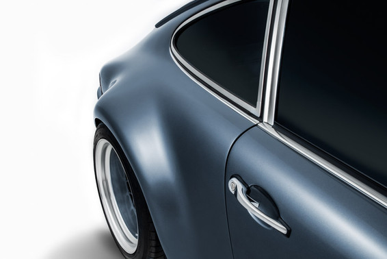Vintage Porsche 911 detail