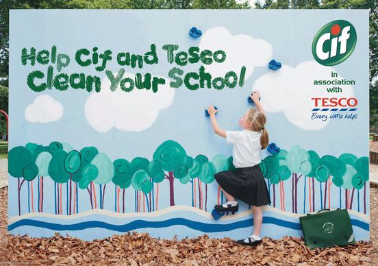Tesco and Cif Schools