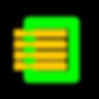 Imagem com verde RGB e amarelo queimado de uma folha de papel com tópicos estilo flat design