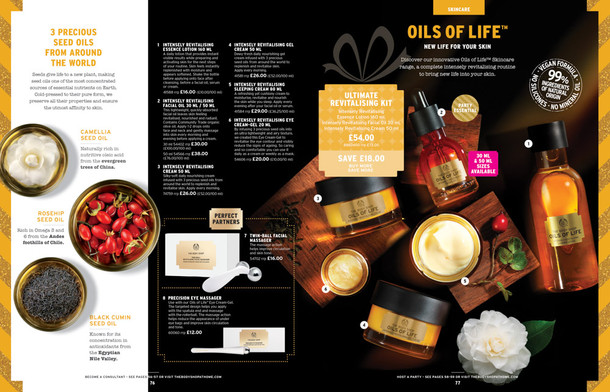 Body Shop Oils of Life