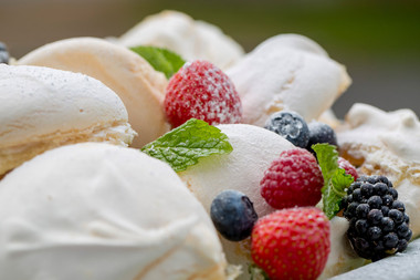 Meringues and Berries