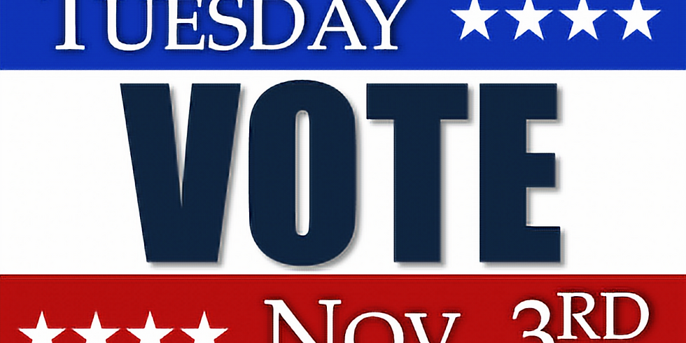 Massachusetts General Election - Tuesday November 3rd