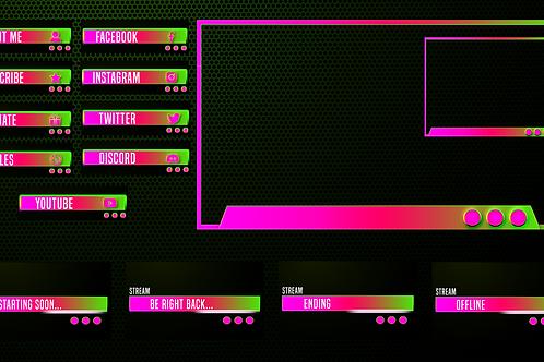 IlluminaD Twitch Overlay 02