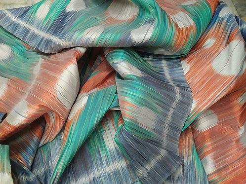 Chemical Dyed Ikat