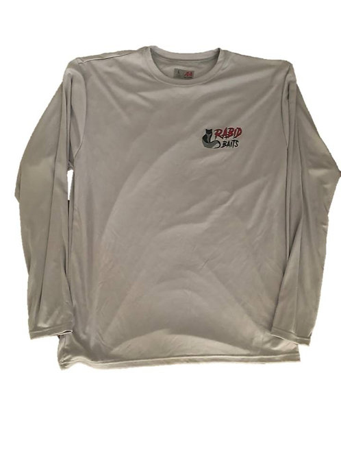 Long Sleeve UV Fishing Shirt - Rabid Baits Logo