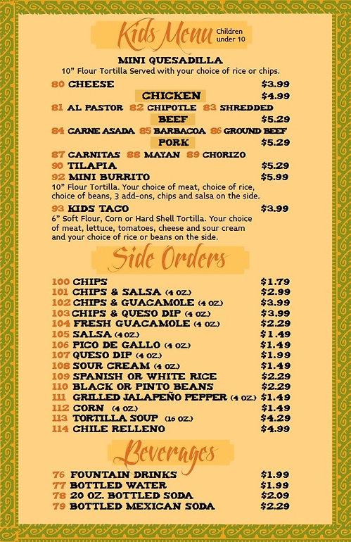 Fiesta Maya Mexican Grill 1178 Baltimore Pike, springfiled PA 19064