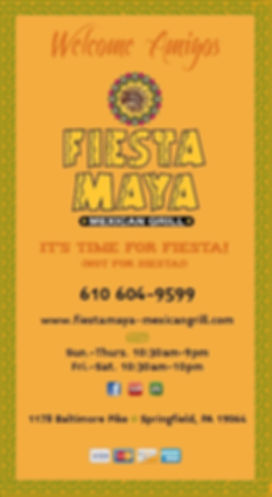 Fiesta Maya Mexican Grill 1178 Baltimore Pike, springfiled PA 19064