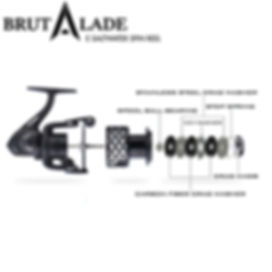 Brutalade Fishing Reels, BRUTALAD Fish Reels Best Value Spinning Reel Australia Great Quality Spin Salt Water Spin. Shimano, Daiwa, Penn, Big Brand Performance, Tournament Drag System, Technology New Buy Brutalade Fish AusFishWarehouse Boat BrutalaRF Bait SK